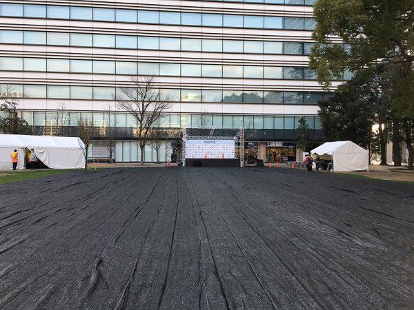 中野ランニングフェスタ2017のステージ